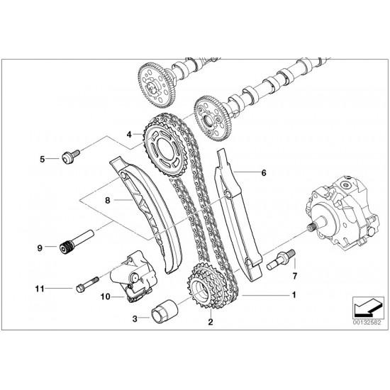 BMW E60 LCI ÜST ZİNCİR SETİ 11318506869